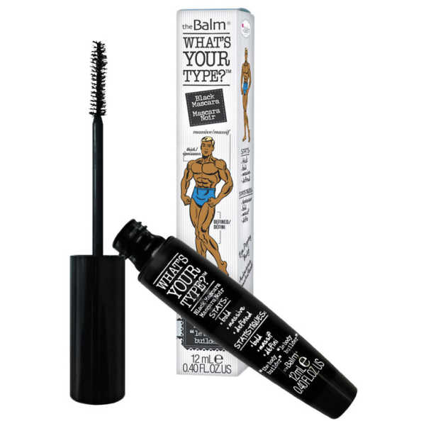 the Balm What'S Your Type? Body Builder - Máscara de Volume e Definição para Cílios 12ml