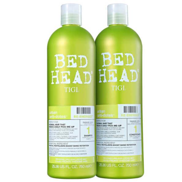 TIGI Bed Head Urban Anti+Dotes #1 Re-Energize Duo Salon Kit (2 Produtos)