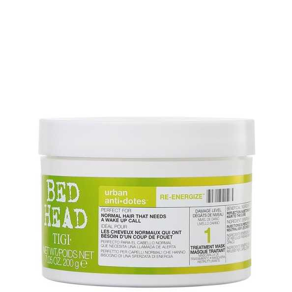 TIGI Bed Head Urban Anti+Dotes #1 Re-Energize Treatment Mask - Máscara de Tratamento 200g