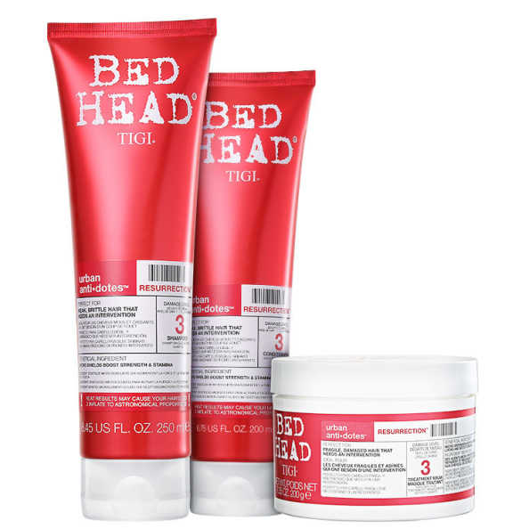 TIGI Bed Head Urban Anti+Dotes #3 Resurrection Trio Kit (3 Produtos)