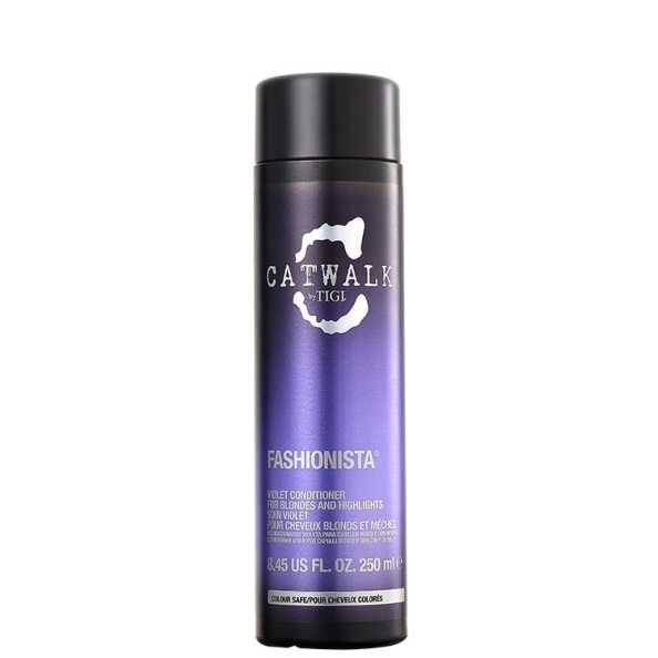 TIGI Catwalk Fashionista Violet Conditioner - Condicionador 250ml