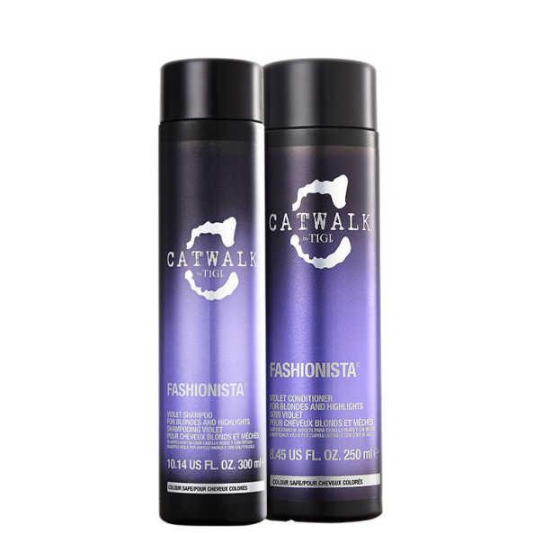 TIGI Catwalk Fashionista Violet Duo Kit (2 Produtos)