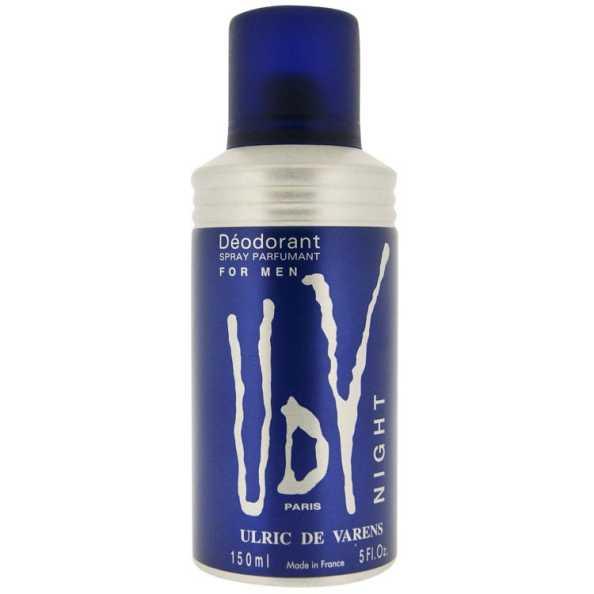 Ulric de Varens Night Déodorant Masculino - Desodorante 150ml