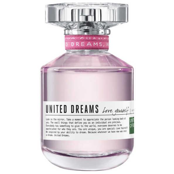 United Dreams Love Yourself Benetton Eau de Toilette - Perfume Feminino 80ml