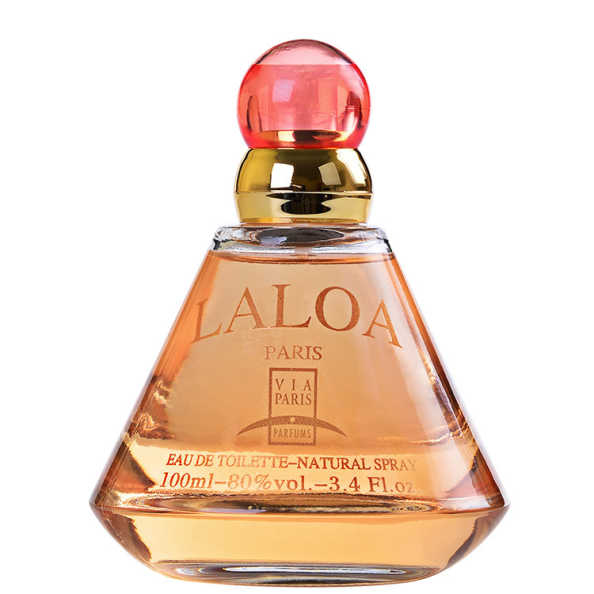 Via Paris Laloa Perfume Feminino - Eau de Toilette 100ml