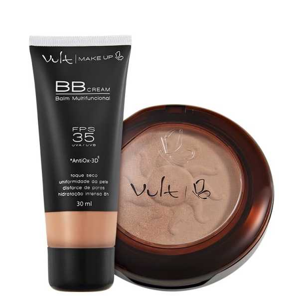 Vult Make Up Balm Duo 03 Kit (2 Produtos)