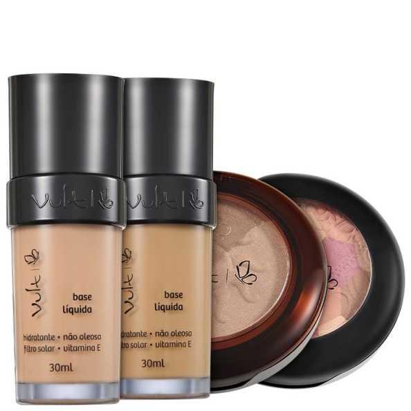 Vult Make Up Duo Soleil Mosaico Kit (4 Produtos)