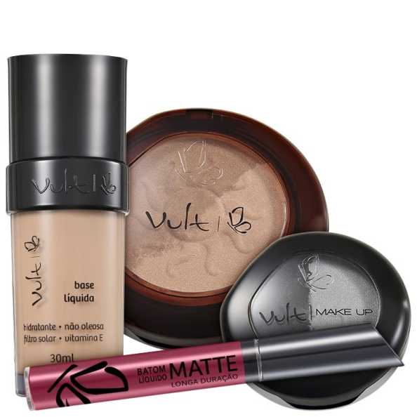 Vult Make Up Total Kit (4 Produtos)