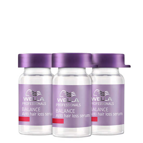 Wella Professionals Balance Anti Hair Loss Serum - Serum Antiqueda 3x6ml