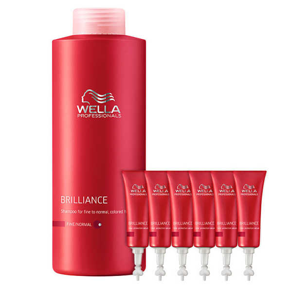 Wella Professionals Brilliance Intense Color Kit (2 Produtos)