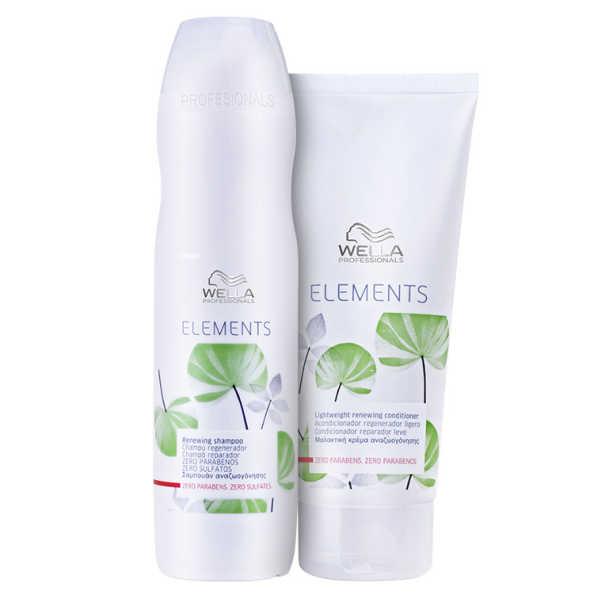 Wella Professionals Elements Renewing Duo Kit (2 Produtos)