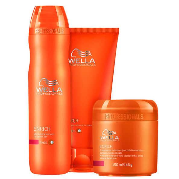 Wella Professionals Enrich Kit (3 Produtos)