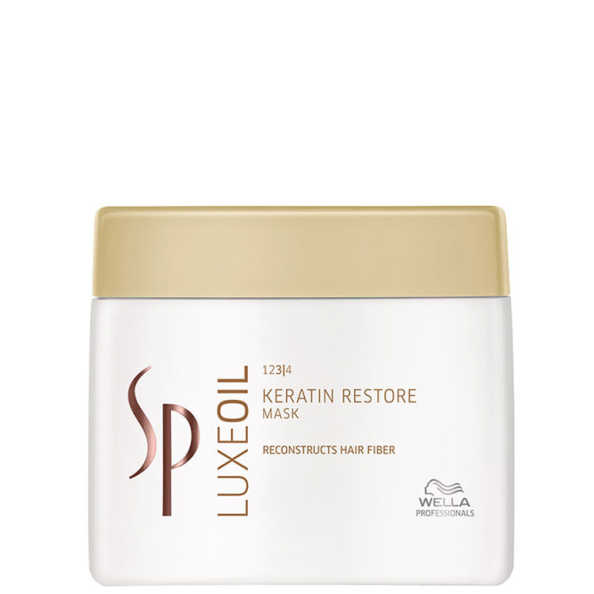 SP System Professional Luxe Oil Keratin Restore Mask - Máscara de Tratamento 400ml