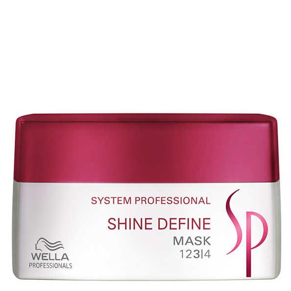 SP System Professional Shine Define Mask - Máscara de Tratamento 200ml