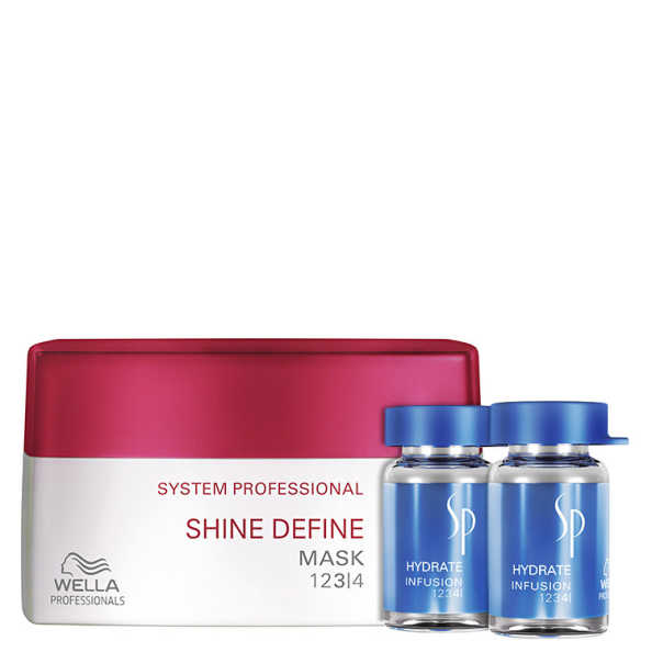 SP System Professional Shine Hydrate Kit (2 Produtos)