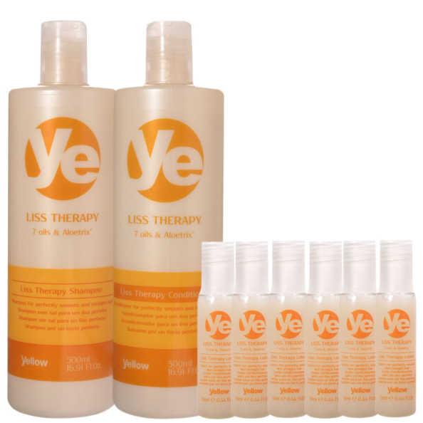 Yellow Liss Therapy Lotion Kit (3 Produtos)