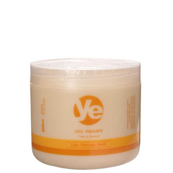 Yellow Liss Therapy Mask - Máscara de Tratamento 500g