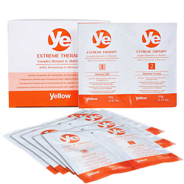 Yellow Ye Extreme Therapy Intensive Treatment - Tratamento 6x30ml