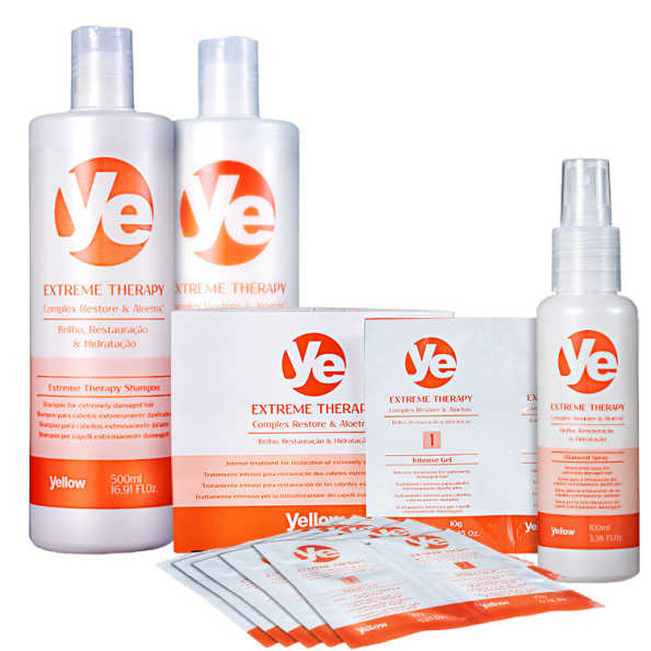 Yellow Ye Extreme Therapy Power Treatment Kit (4 Produtos)