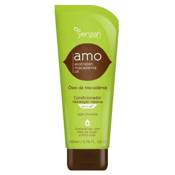 Yenzah Amo Australian Macadamia Oil - Condicionador Condicionador 200ml