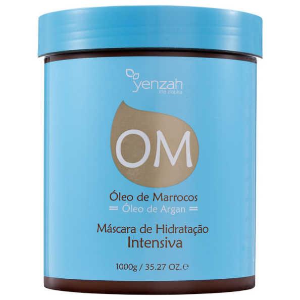 Yenzah OM Óleo de Marrocos Hidratação Intensiva - Máscara 1000g