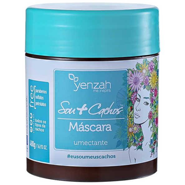 Yenzah Sou + Cachos - Máscara Umectante 480g