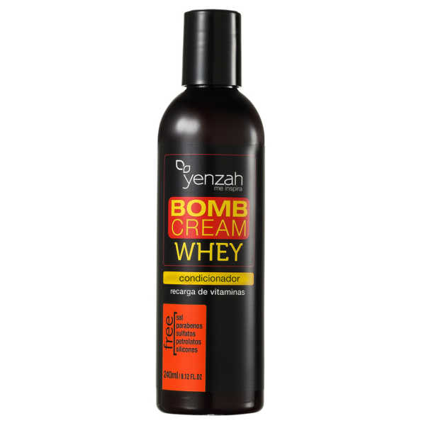 Yenzah Whey Bomb Cream - Condicionador 240ml