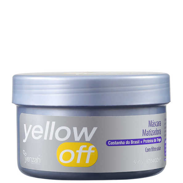 Yenzah Yellow Off – Máscara Matizadora 500g