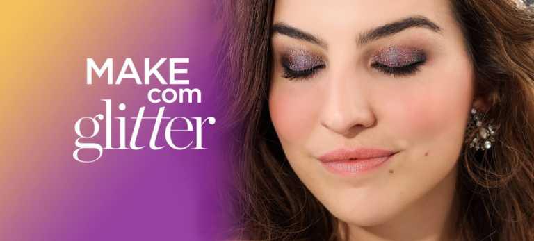 Como usar glitter na maquiagem com Chloé Gaya
