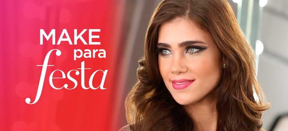 Maquiagem para festa com Kaká Moraes